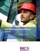 NEBOSH International Diploma Unit IC Book Image