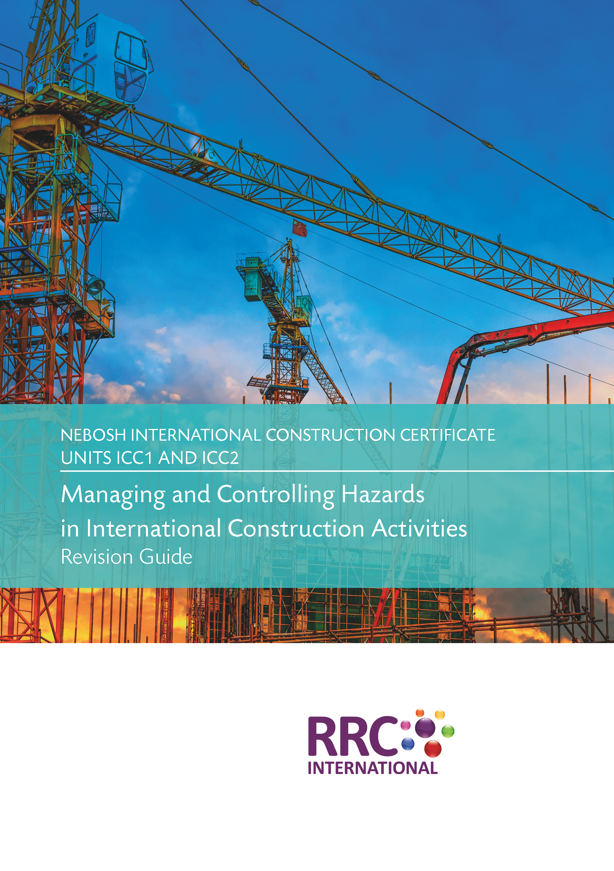 NEBOSH International Construction Certificate Book Image