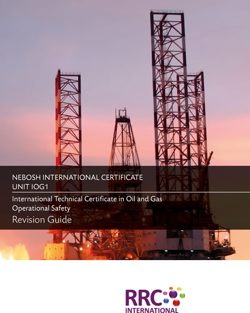 NEBOSH Oil and Gas Certificate Book Image