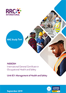 A Guide to the NEBOSH International General Certificate in Occupational Safety and Health New Syllabus Book Image