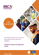 A Guide to the NEBOSH International General Certificate in Occupational Safety and Health Book Image