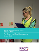 NEBOSH National Fire Certificate Book Image