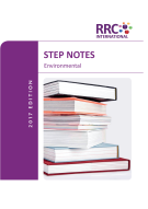 Environmental Step Notes Book Image
