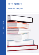 Health and Safety Law Step Notes Book Image