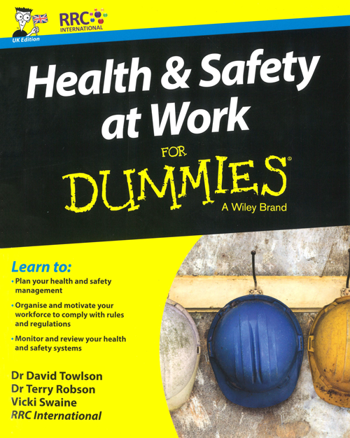 Health and Safety at Work For Dummies Book Image